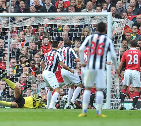 Manchester United 2-2 West Bromwich Albion