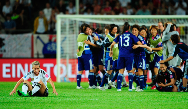 4tos de final, Mundial Femenil