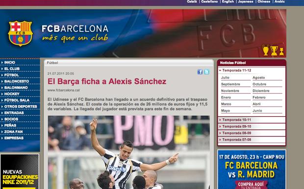 Comunicado FC Barcelona