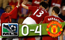 MLS 0-4 Manchester United