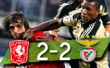 Twente 2-2 Benfica