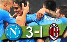 SERIE A   Napoli 3-1 AC Milan