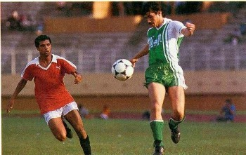 Mohamed Chaib con Argelia