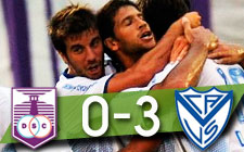 Defensor Sporting 0-3 Vélez Sársfield