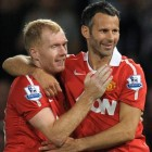 Paul Scholes y Ryan Giggs