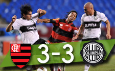 Flamengo vs Olimpia