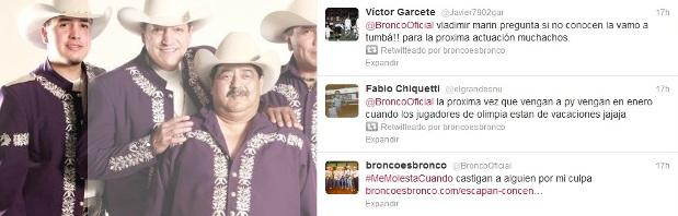 Twitter de Bronco