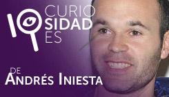 10 curiosidades de: Andrés Iniesta