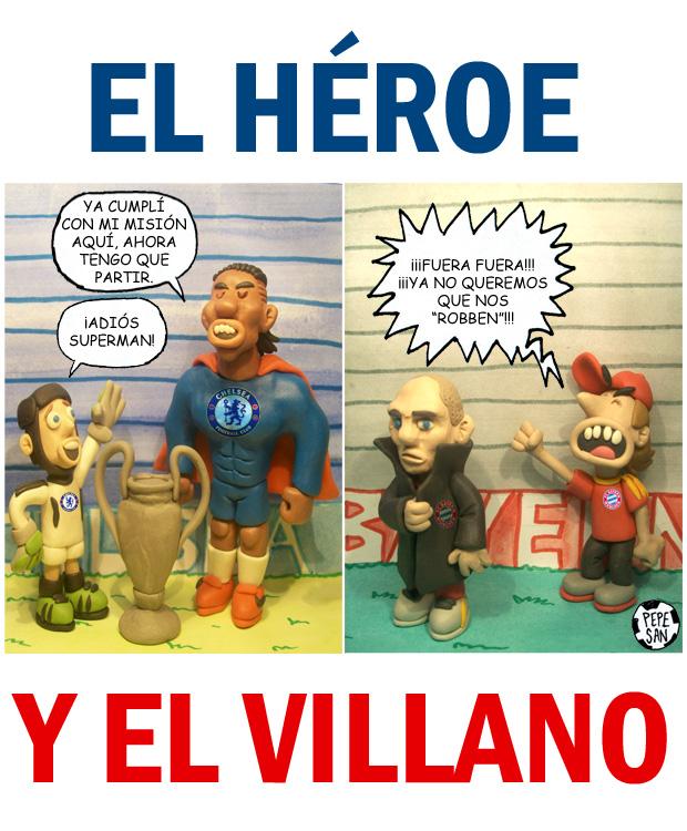 El héroe y el villano