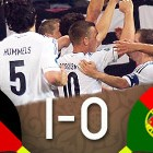 Alemania 1-0 Portugal