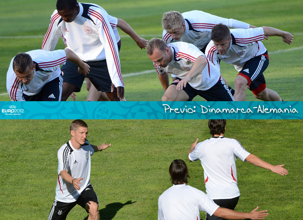 Previo: Dinamarca-Alemania