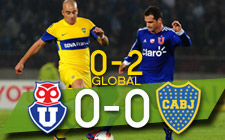 Universidad de Chile vs Boca