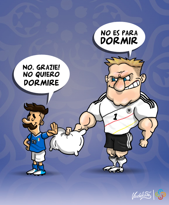 Italia vs Alemania