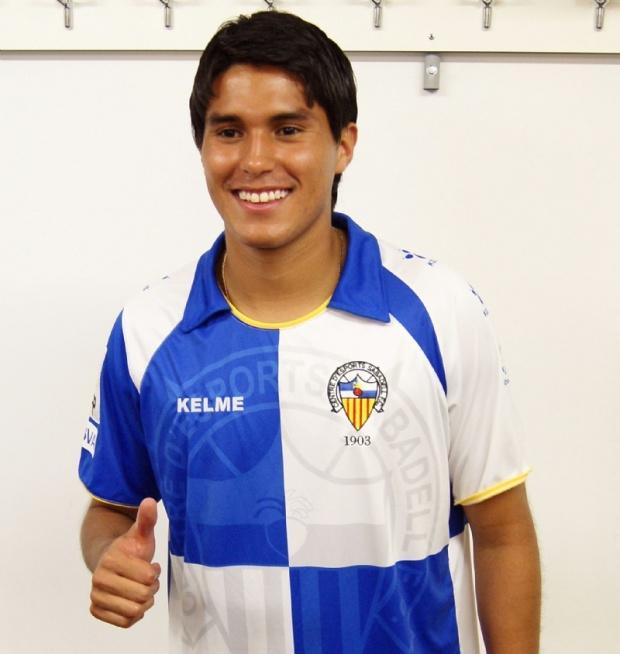 Davila ya fue presentado con Sabadell