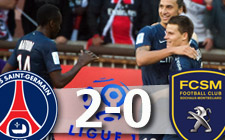 Paris Saint-Germain 2-0 Sochaux