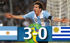 argentina uruguay brasil 2014