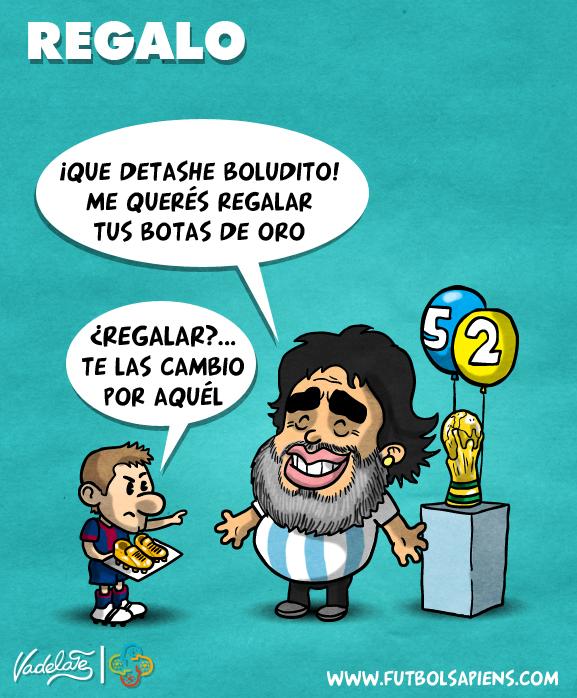 Maradona cumpleaños