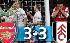 Arsenal 3-3 Fulham