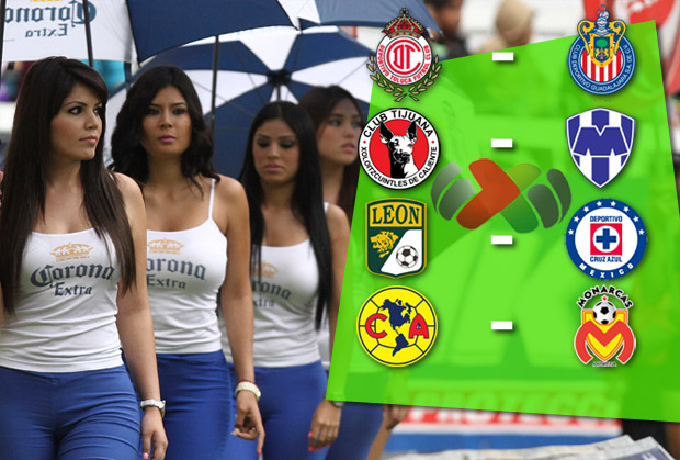 Así se jugará la Liguilla del Apertura 2012