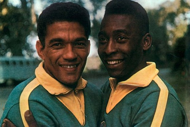 Garrincha no guardaba gratos recuerdos de Pele