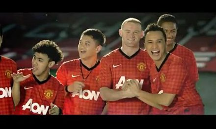 Nidji y Man. United