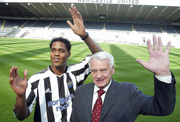 patrick kluivert newcastle united