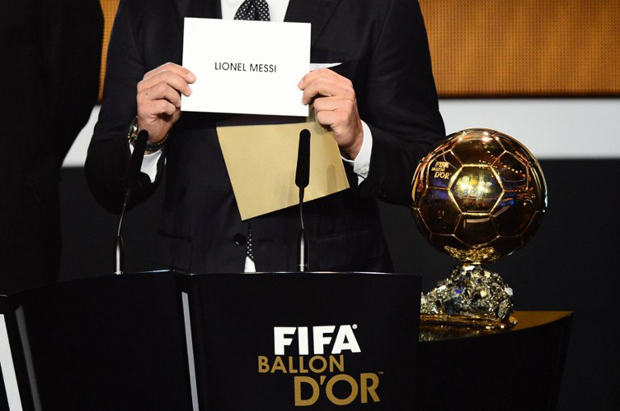 balon de oro messi