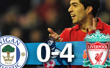 Wigan 0-4 Liverpool