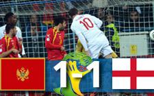 Montenegro vs Inglaterra