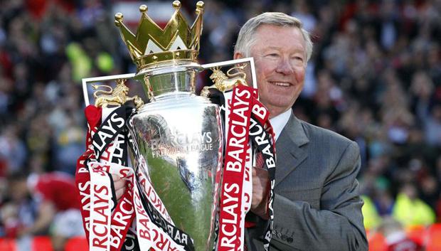 Sir Alex Ferguson 26 años