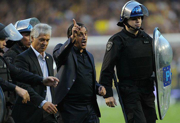 ramon diaz superclasico
