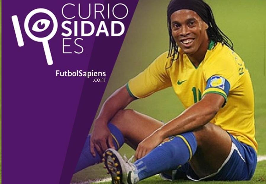 10 curiosidades de Ronaldinho