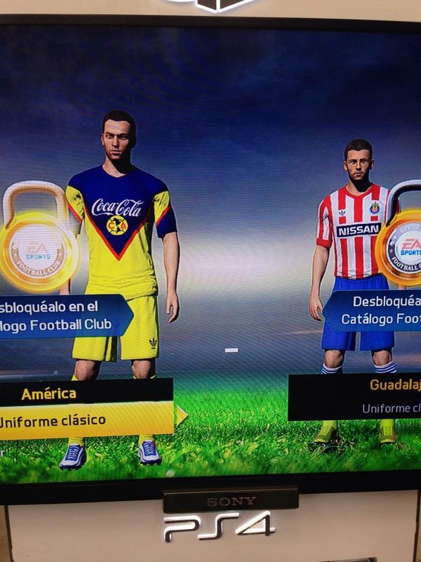 Ligas, uniformes y estadios disponibles en FIFA 15