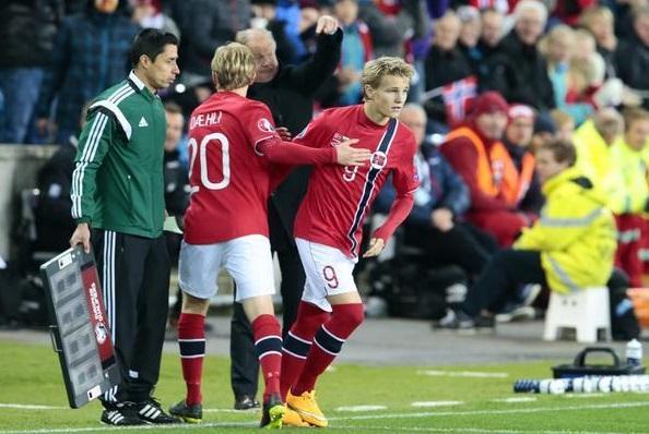 Futbolista noruego impone record en la Eurocopa