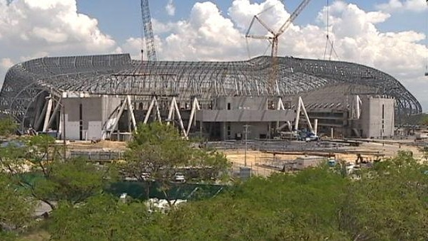 Ya casi está listo el nuevo estadio de Monterrey