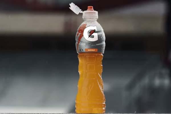 Gatorade lanza nueva botella que facilitará la hidratación.