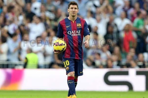 Messi jugó infiltrado contra el Real Madrid