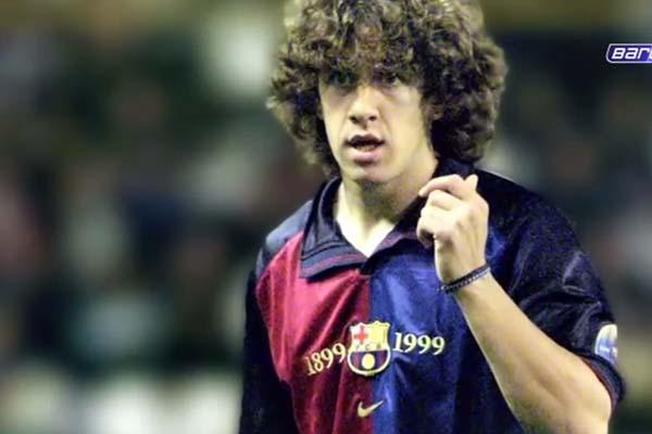 debut de Puyol con el Barcelona