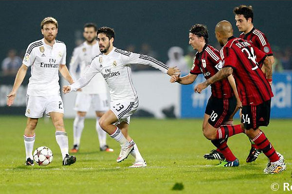 Milan golea 4-2 al Real Madrid