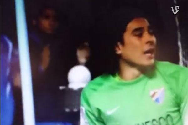 atajada de Ochoa contra Athletic en Copa