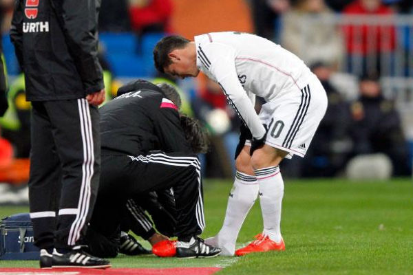 James Rodríguez estará hasta 2 meses de baja