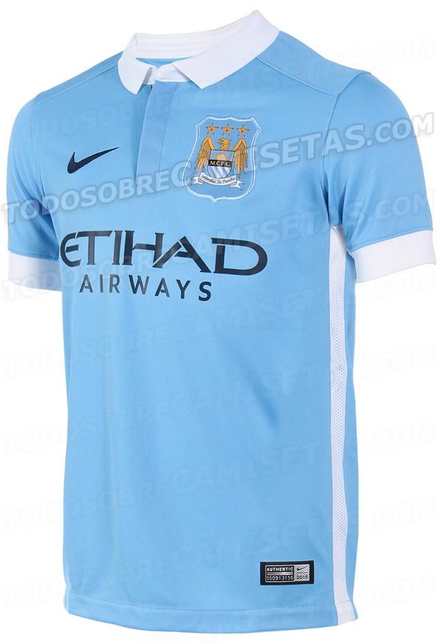 Nueva Camiseta Manchester City - Futbol Sapiens 57cacdb16a5b5