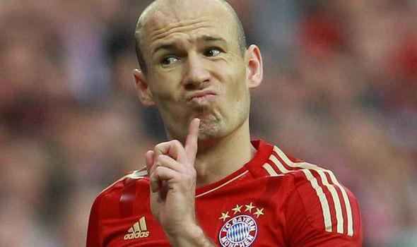 Robben al Manchester United