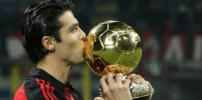 Resultado de imagen para kaká balon de oro