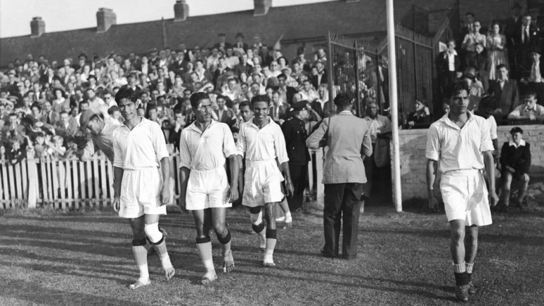 La India en el Mundial Brasil 1950 - Futbol Sapiens