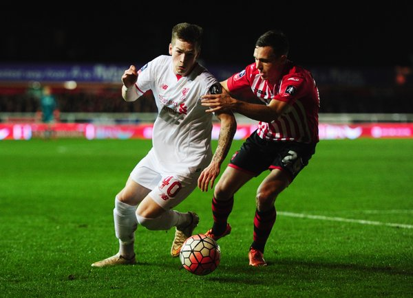 Exeter City vs Liverpool FA Cup 2016