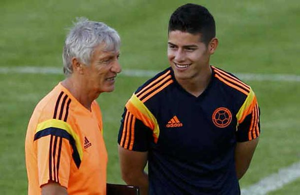 Pekerman confía en que James recuperará nivel