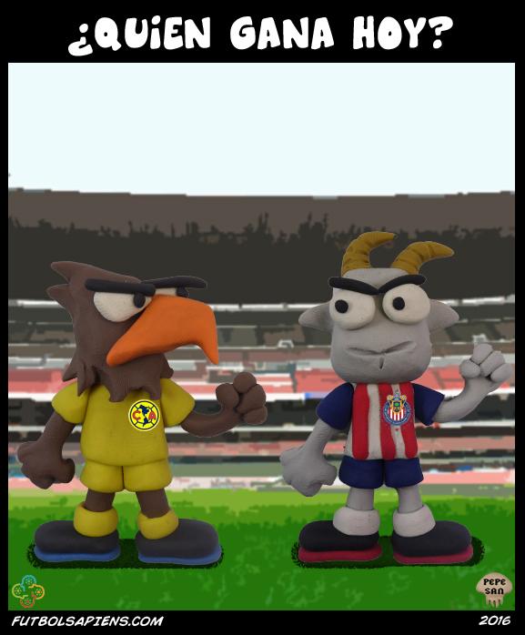 Águilas vs Chivas