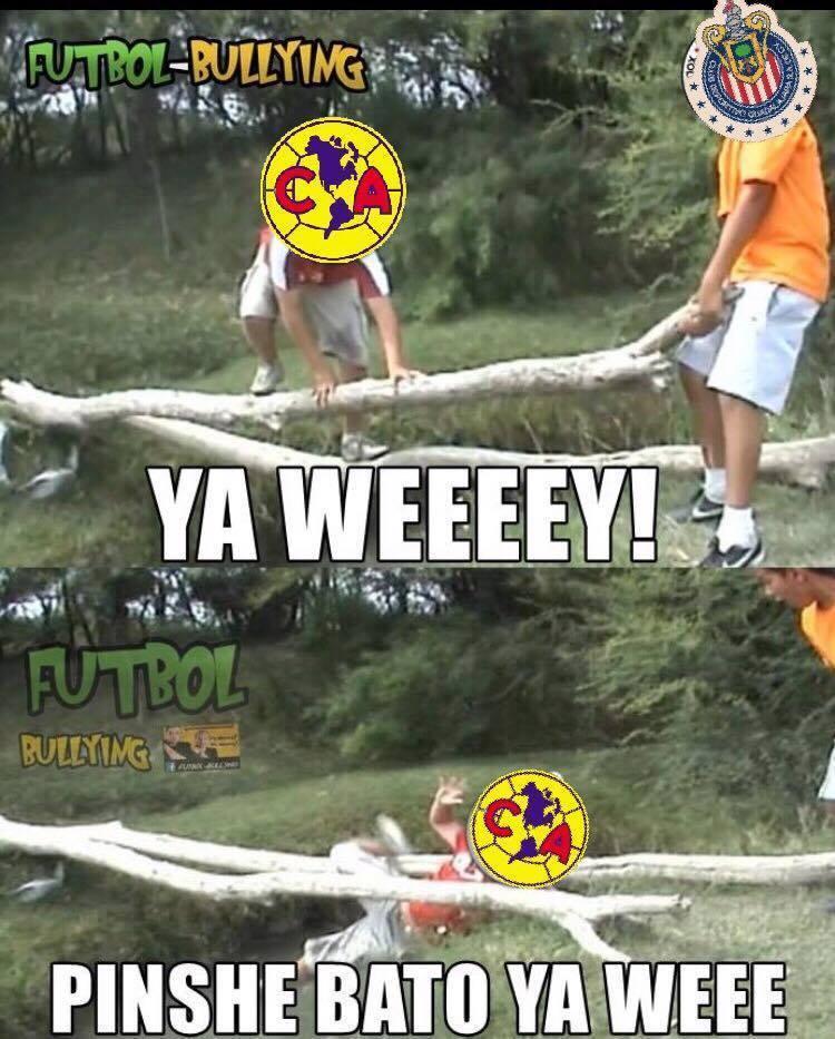 Memes De Las Chivas Y El America