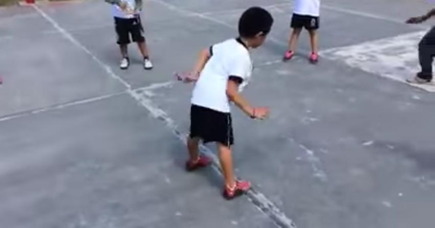 Niño festejó gol como Paul Aguilar